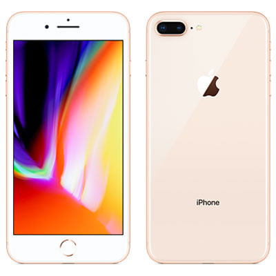 イオシス 【SIMロック解除済】au iPhone8 Plus 64GB A1898 (MQ9M2J/A) ゴールド