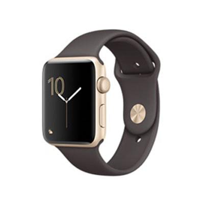 イオシス Apple Watch Series2 42mm MNT72J/A(ゴールドアルミニウム/ココアスポーツバンド)