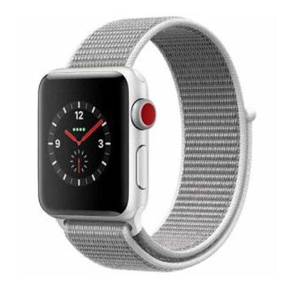 イオシス Apple Watch Series3 GPS+Cellularモデル 38mm MQKJ2J/A 【シルバーアルミニウム/シーシェルスポーツループ】