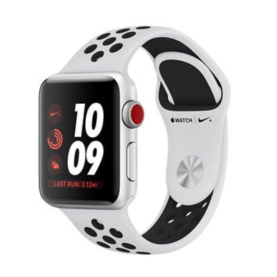 イオシス|Apple Watch Nike+ Series3 GPSモデル 38mm  MQM72J/A (プラチナ/ブラック)