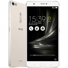 ASUS ZenFone3 Ultra Dual SIM ZU680KL-SL32S4 32GB  Slver 【国内版 SIMフリー】