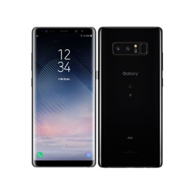 イオシス|【SIMロック解除済】au Galaxy note8 SCV37 Midnight Black
