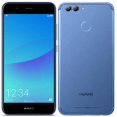 Huawei nova2 PIC-LX9(HWU33SLU) Aurora Blue【UQ版 SIMフリー】