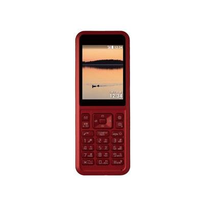 イオシス 【SIMロック解除済】SoftBank Simply 602SI レッド
