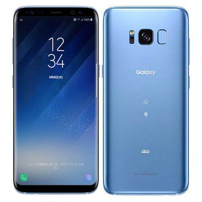 イオシス|au Galaxy S8 SCV36 Coral Blue