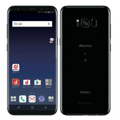 【SIMロック解除済】docomo Galaxy S8+ (Plus) SC-03J Midnight Black