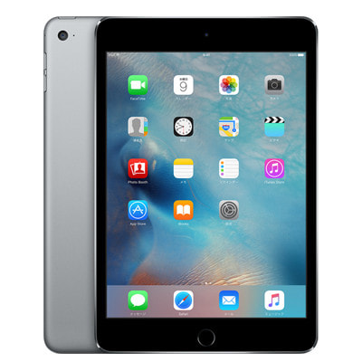 イオシス|【第4世代】au iPad mini4 Wi-Fi+Cellular 64GB スペースグレイ MK722J/A A1550