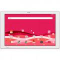 【SIMロック解除済】au Qua tab PZ LGT32 Pink