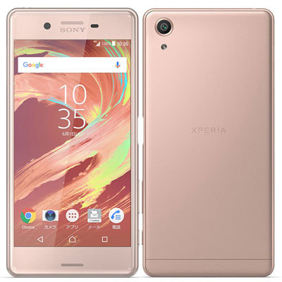 イオシス|SoftBank Xperia X Performance 502SO Rose Gold