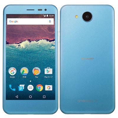 イオシス|【SIMロック解除済】Y!mobile Android One 507SH スモーキーブルー