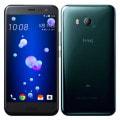 【SIMロック解除済】au HTC U11 HTV33 ブリリアント ブラック