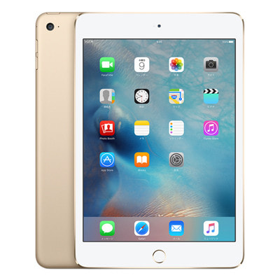 イオシス docomo iPad mini4 Wi-Fi Cellular (MK782J/A) 128GB ゴールド