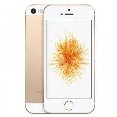 【SIMロック解除済】SoftBank  iPhoneSE 16GB A1723 (MLXM2J/A) ゴールド画像