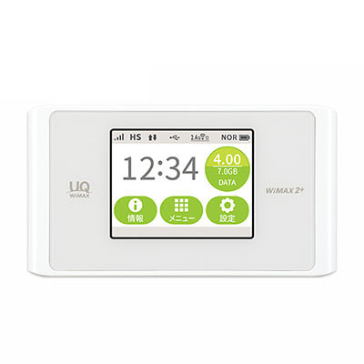 イオシス|【UQWiMAX版】Speed Wi-Fi NEXT WX04 NAD34 クリアホワイト