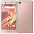 【SIMロック解除済】au Xperia X Performance SOV33 Rose Gold