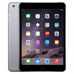 【第3世代】au iPad mini3 Wi-Fi+Cellular 64GB スペースグレイ MGJ02J/A A1600