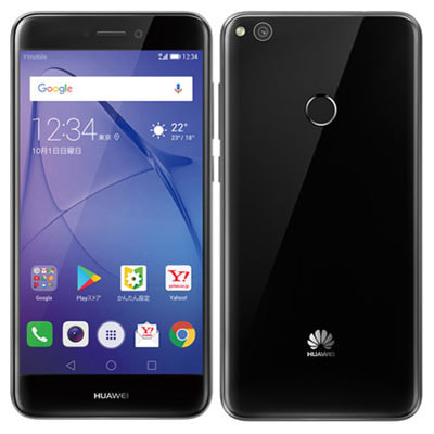 イオシス Y!mobile Huawei nova lite 608HW ブラック
