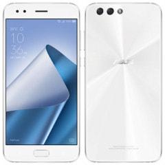 ASUS Zenfone4 Dual-SIM ZE554KL-WH64 64GB RAM4GB Moonlight White【海外版SIMフリー】
