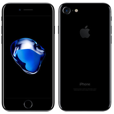 イオシス|【SIMロック解除済】au iPhone7 32GB A1779 (MQTY2J/A) ジェットブラック