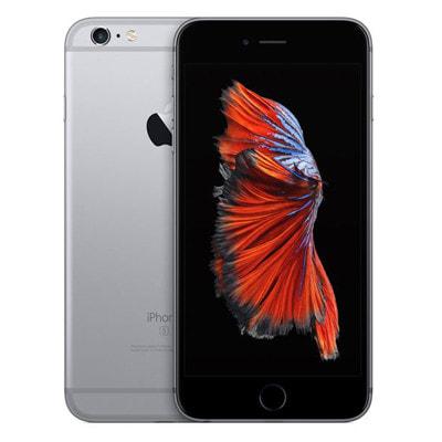 イオシス|【SIMロック解除済】au iPhone6s Plus 64GB A1687 (MKU62J/A) スペースグレイ
