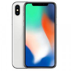 【SIMロック解除済】【ネットワーク利用制限▲】docomo iPhoneX 64GB A1902 (MQAY2J/A) シルバー