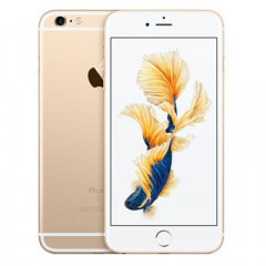 【SIMロック解除済】au iPhone6s Plus 64GB A1687 (MKU82J/A) ゴールド