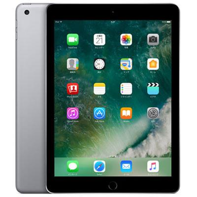 イオシス 【SIMロック解除済】【第5世代】au iPad2017 Wi-Fi+Cellular 32GB スペースグレイ MP1J2J/A A1823
