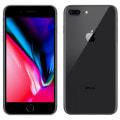 【SIMロック解除済】【ネットワーク利用制限▲】docomo iPhone8 Plus 256GB A1898 (MQ9N2J/A) スペースグレイ