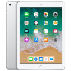 【SIMロック解除済】【第6世代】au iPad2018 Wi-Fi+Cellular 32GB シルバー MR6P2J/A A1954