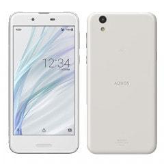 【SIMロック解除済】 UQ mobile AQUOS sense SHV40SWU Silky White
