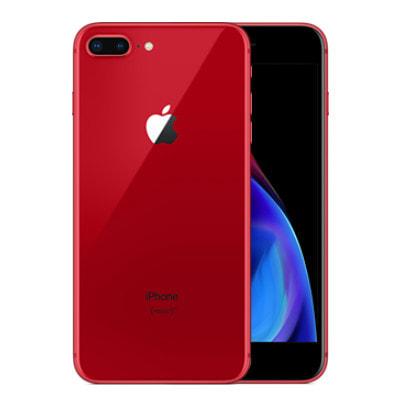 イオシス|【SIMロック解除済】au iPhone8 Plus A1898 (MRTL2J/A) 64GB  レッド