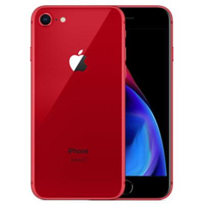 イオシス 【SIMロック解除済】au iPhone8 64GB A1906 (MRRY2J/A) レッド