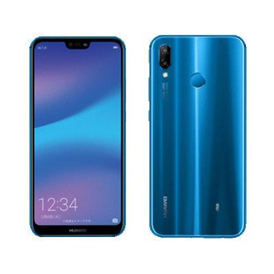 イオシス 【SIMロック解除済】au Huawei P20 lite HWV32 Klein Blue