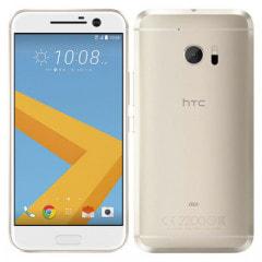【SIMロック解除済】au HTC 10 HTV32 トパーズゴールド