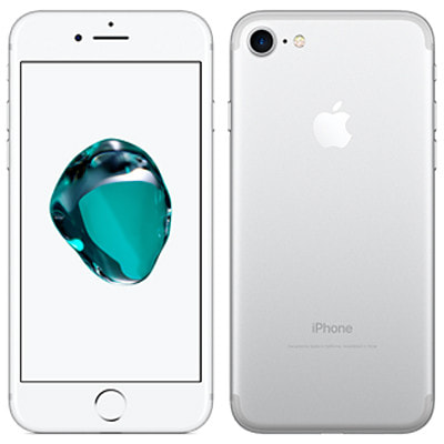 イオシス|【SIMロック解除済】docomo iPhone7 128GB A1779 (MNCL2J/A) シルバー