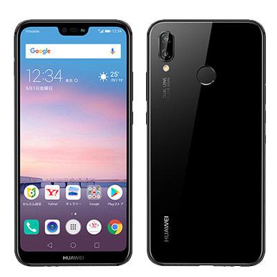 イオシス|Huawei P20 lite ANE-LX2J (HWSDA2) ミッドナイトブラック【Y!mobile版 SIMフリー】