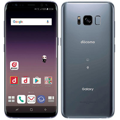 イオシス|docomo Galaxy S8 SC-02J Orchid Gray