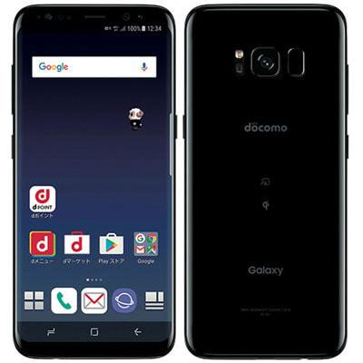 イオシス 【SIMロック解除済】docomo Galaxy S8 SC-02J Midnight Black
