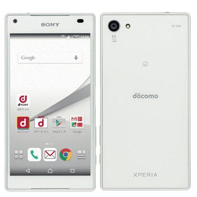 イオシス|【SIMロック解除済】docomo Xperia Z5 Compact SO-02H White