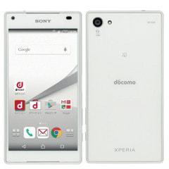 【SIMロック解除済】docomo Xperia Z5 Compact SO-02H White