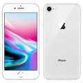 【SIMロック解除済】【ネットワーク利用制限▲】au iPhone8 64GB A1906 (MQ792J/A) シルバー