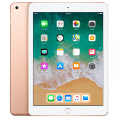 【第6世代】SoftBank iPad2018 Wi-Fi+Cellular 32GB ゴールド MRM02J/A A1954