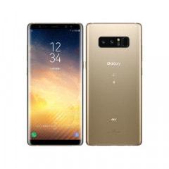 au Galaxy note8  SCV37 Maple Gold