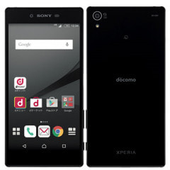 【SIMロック解除済】docomo Xperia Z5 Premium SO-03H Black