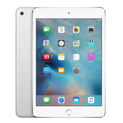 イオシス 【ネットワーク利用制限▲】【第4世代】SoftBank iPad mini4 Wi-Fi+Cellular 128GB シルバー MK772J/A A1550