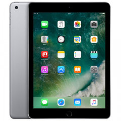 【SIMロック解除済】【第5世代】au iPad2017 Wi-Fi+Cellular 32GB スペースグレイ MP1J2J/A A1823