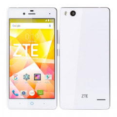ZTE BLADE E01 ホワイト 【RAM2GB/ROM16GB】