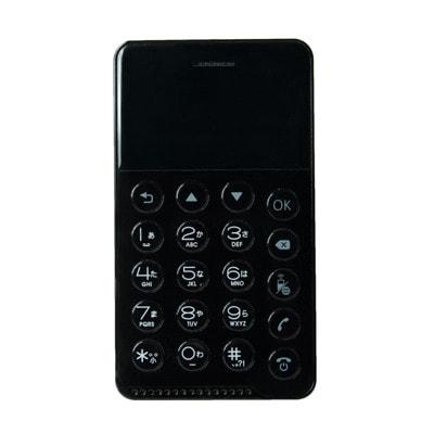 イオシス|NichePhone-S MOB-N17-01【ブラック】