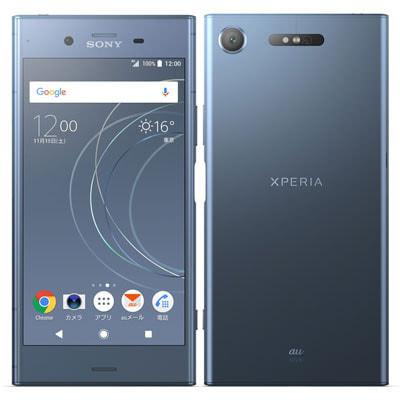 イオシス au Sony Xperia XZ1 SOV36 Moonlit Blue