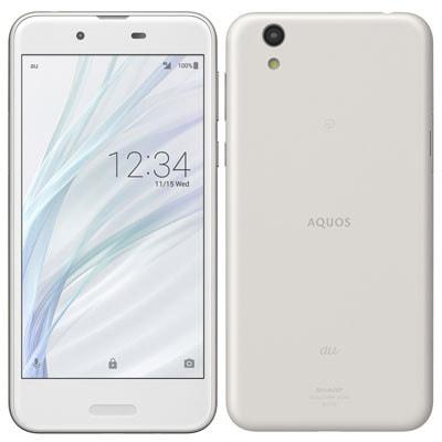 イオシス 【SIMロック解除済】 UQ mobile AQUOS sense SHV40 Silky White